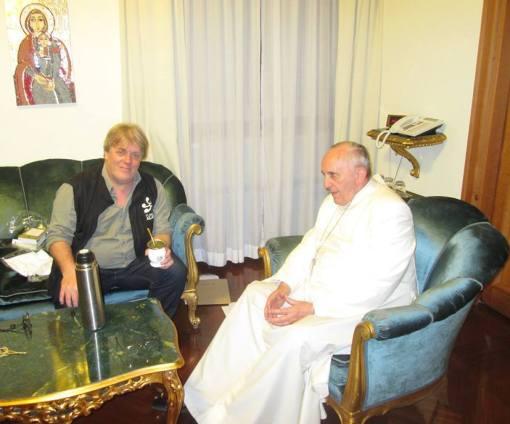 Gustavo Vera y el Papa