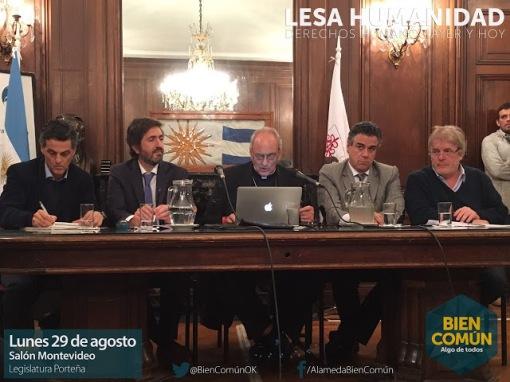 Colombo, Casanello, Sanchez Sorondo, Rafecas y VEra